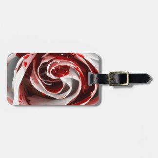 Pink Blood Luggage Tag