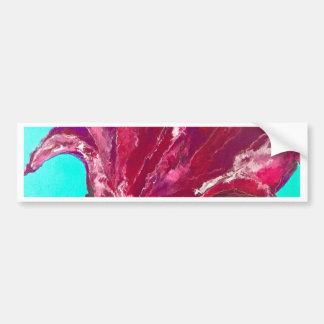 Pink Bloom Bumper Sticker