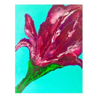 Pink Bloom Postcard
