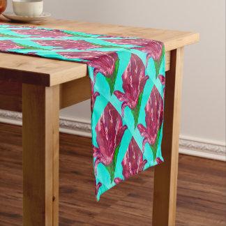 Pink Bloom Short Table Runner