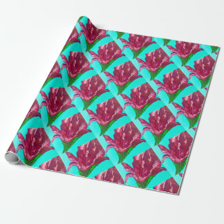 Pink Bloom Wrapping Paper