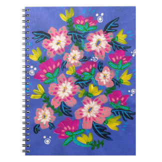 Pink Blooms Notebook