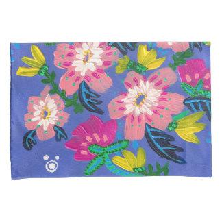 Pink Blooms Standard Pillow Cases- Set of 2 Pillowcase
