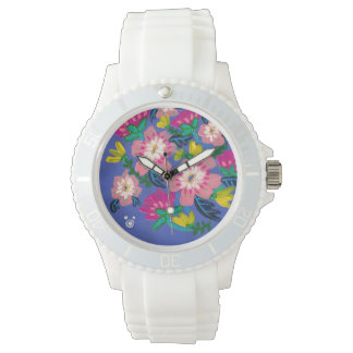 Pink Blooms Watch
