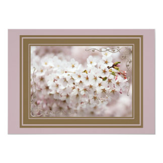 Pink Blossom Buds Card