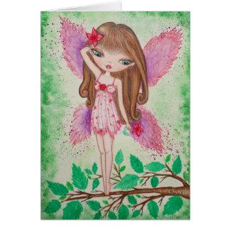 """Pink Blossom"" Card"