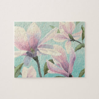 Pink Blossoms from the South Jigsaw Puzzle