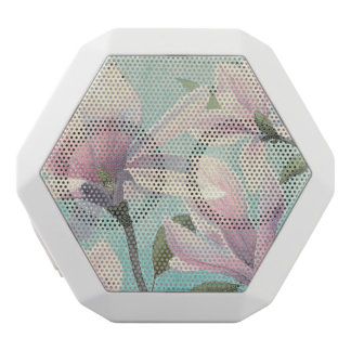 Pink Blossoms from the South White Bluetooth Speaker