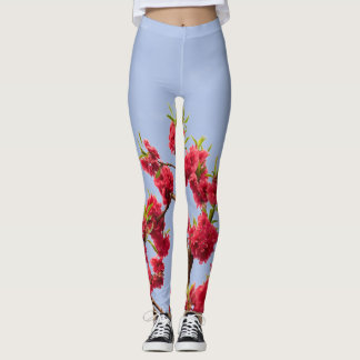 Pink Blossoms Leggings