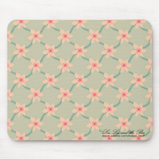 Pink Blossoms, mousepad Mouse Pad