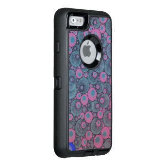 Pink Blue Abstract OtterBox iPhone 6/6s Case