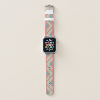 Pink, Blue and Green Southwest Apple Watch Band