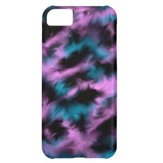 Pink, blue, black mixture iPhone 5C case