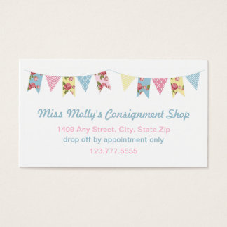Pink & Blue Bunting Consignment Store / Daycare