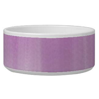 Pink Blue Dog Water Bowl