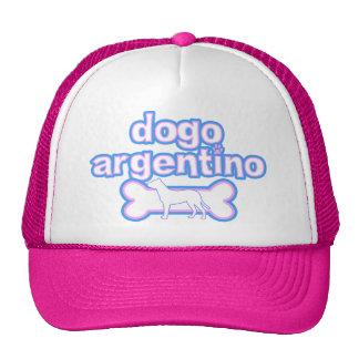Pink & Blue Dogo Argentino Cap