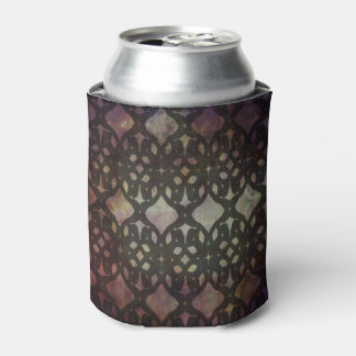 Pink Blue Geo Can Cooler