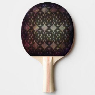 Pink Blue Geo Ping Pong Paddle