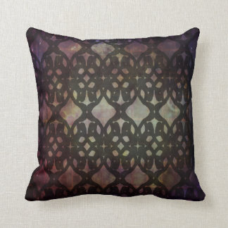 Pink Blue Geo Small Poly Pillow