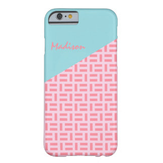 Pink & Blue Geometric Patterned Custom iPad Cover