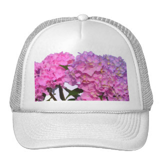 Pink & Blue  Hydrangeas Cap