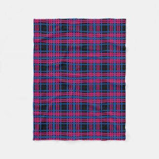 Pink & Blue Plaid Fleece