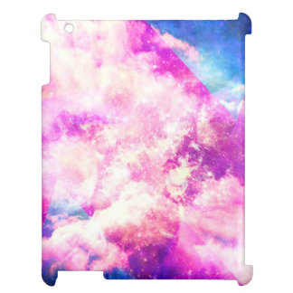 Pink Blue  Purple Nebula Dreamy Clouds iPad Covers