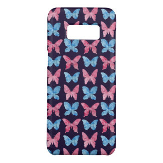 Pink Blue Watercolor Painting Pattern Case-Mate Samsung Galaxy S8 Case
