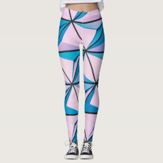 Pink Blueberry Burst Leggings