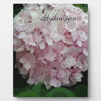 Pink Blush Hydrangea Blossom Plaque