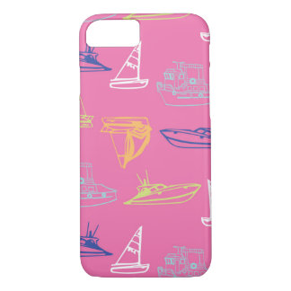 Pink Boats iPhone 7 Case