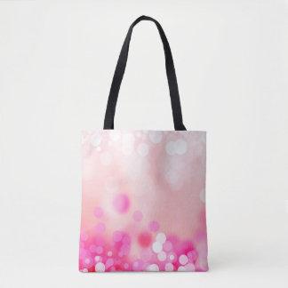 Pink Bokeh Tote Bag