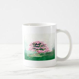 Pink Bonsai Coffee Mug