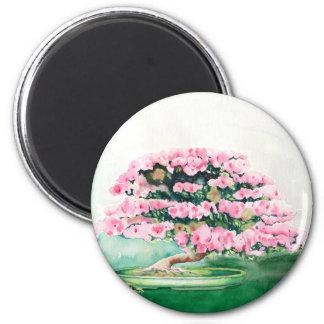Pink Bonsai Magnet