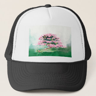 Pink Bonsai Trucker Hat