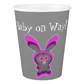Pink Boog baby Custom Paper Cup, 9 oz Paper Cup