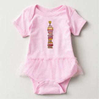 Pink Books Baby Tutu Baby Bodysuit