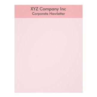 pink border 21.5 cm x 28 cm flyer