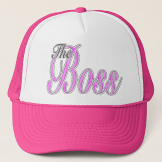 Pink Boss Lady Hat