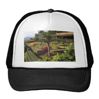 Pink Botanical Gardens Funchal Madeira flowers Mesh Hat