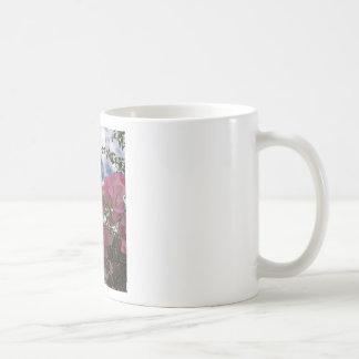 Pink bougainvillea coffee mug