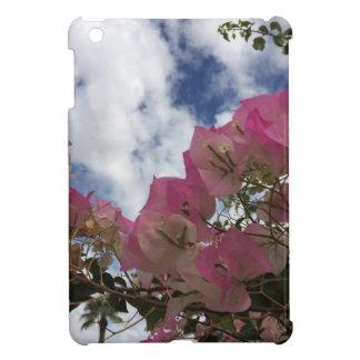 Pink bougainvillea iPad mini cases