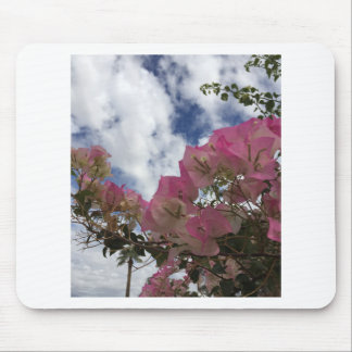 Pink bougainvillea mouse pad