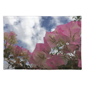 Pink bougainvillea placemat