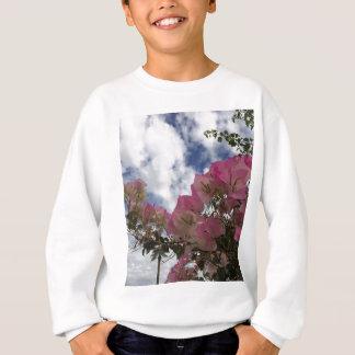 Pink bougainvillea sweatshirt
