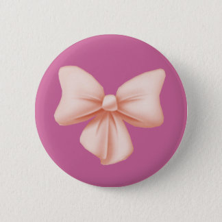 Pink Bow Button