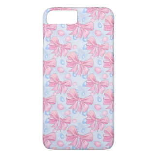 Pink Bow iPhone 8 Plus/7 Plus Case