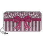 Pink Bow Travel Speaker