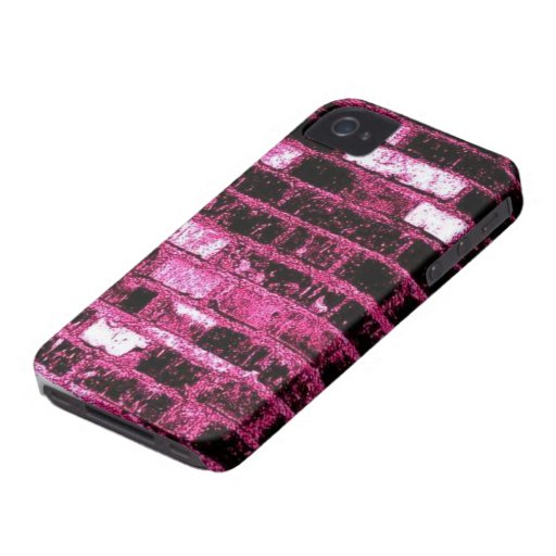 Pink Brick BlackBerry Bold Case-Mate Barely There