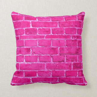 Pink Brick Cushion